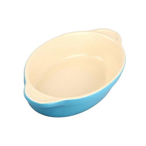 Denby - Stoneware 18cm Azure oval dish