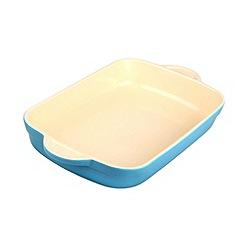 Denby - Stoneware 32.5cm Azure rectangular dish