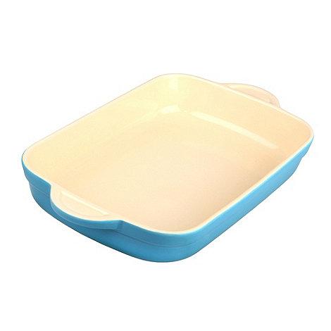 Denby - Stoneware 25.5cm Azure rectangular dish