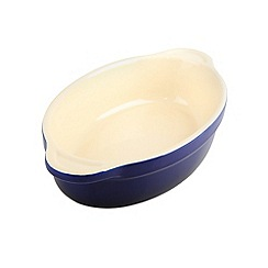 Denby - Stoneware 18cm Imperial blue oval dish