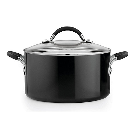 Prestige - Aluminium 24cm lidded stock pot