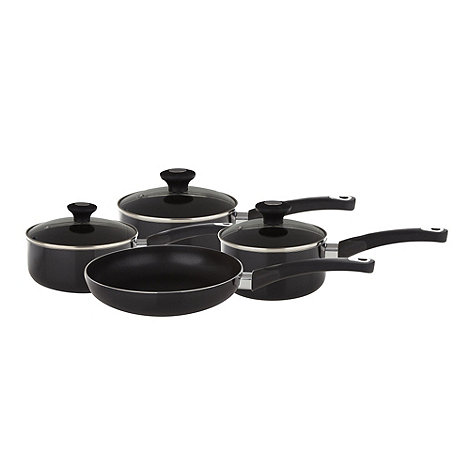 Le Vrai Gourmet - Non-stick aluminium 4 piece cookware set