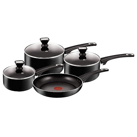 Jamie Oliver - By Tefal four-piece non-stick pan set