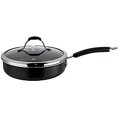 Meyer - Maxim - Aluminium 'Maxim Premier' non stick 24cm covered saute pan