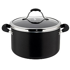 Meyer - Maxim - Aluminium 'Maxim Premier' non stick 24cm covered stockpot