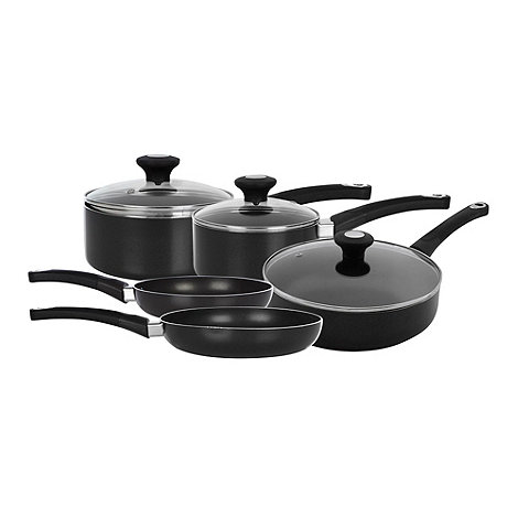Debenhams - Non-stick five piece pan set