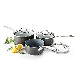 Green Pan - 'Venice' 3 piece saucepan set