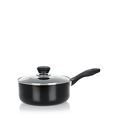 Meyer - Aluminium non stick three piece saucepan set