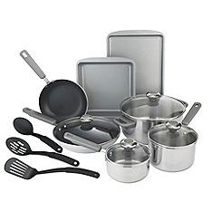 Prestige - Prestige stainless steel 10 piece cookware set