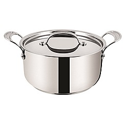 Jamie Oliver - By Tefal Stainless Steel professional series stew pot with lid 24cm