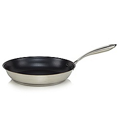Home Collection - Stainless steel 24cm non stick frying pan