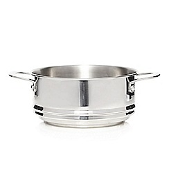 Home Collection - Stainless steel universal steamer