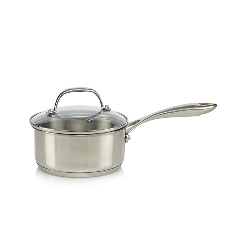Home Collection - Stainless Steel 16Cm Saucepan With Lid