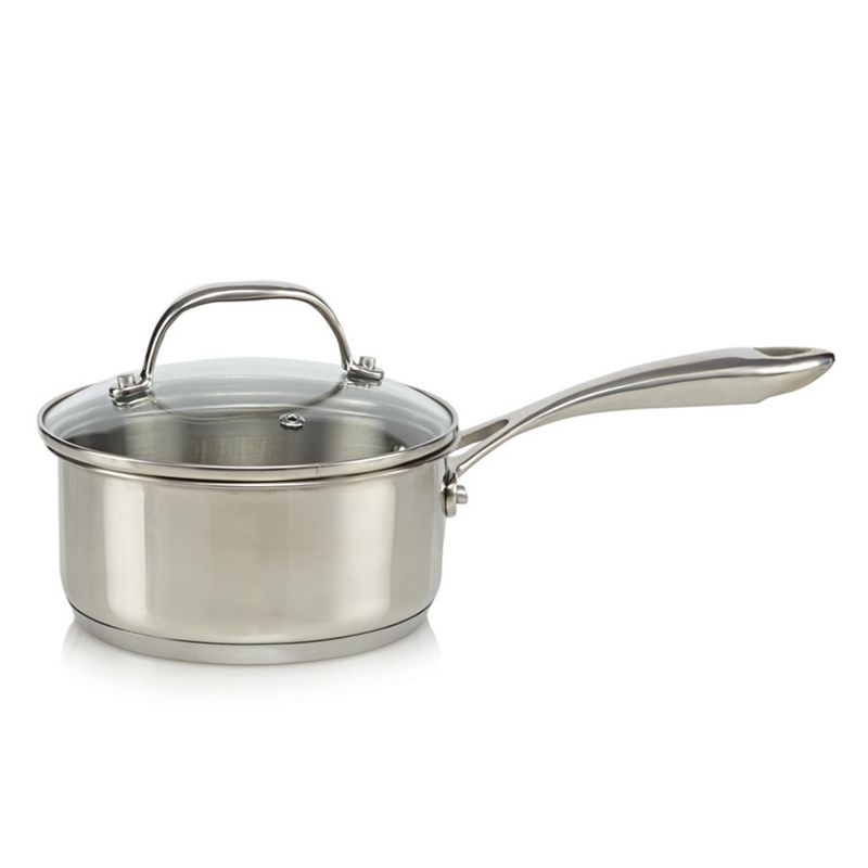Home Collection - Stainless Steel 18Cm Saucepan With Lid