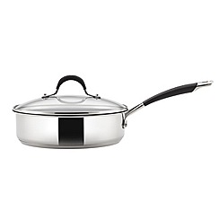 Circulon - Stainless steel 'Momentum' 24cm induction saute pan
