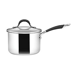 Circulon - Stainless steel 18cm covered saucepan