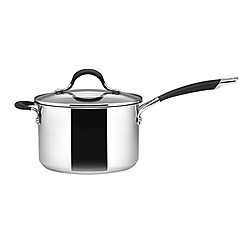 Circulon - Stainless steel 20cm covered saucepan