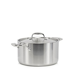 J by Jasper Conran - Stainless steel 24cm tri-ply stockpot