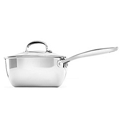 OXO - 'Good Grips' stainless steel pro 20cm saucepan