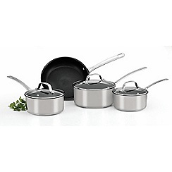 Circulon - 'Genesis' stainless steel 4 piece frying pan set