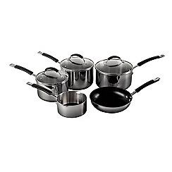 Raymond Blanc - Silver stainless steel 5 piece set
