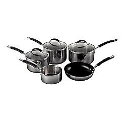 Raymond Blanc - Silver stainless steel 5 piece set
