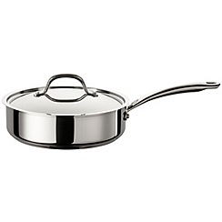Circulon - 'Ultimum' Stainless Steel 24cm Covered Saute pan