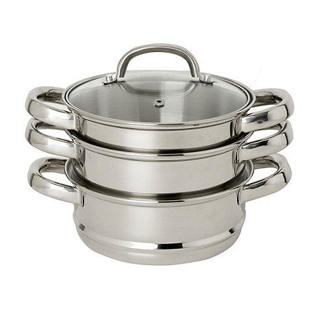 Home Collection Basics - 16cm stainless steel multi level steamer