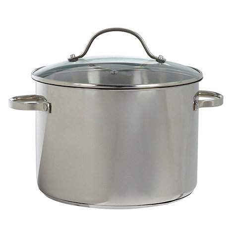 Debenhams - Le Vrai Gourmet stainless steel 24cm stock pot