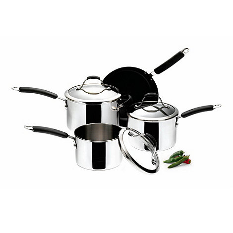 Meyer - Maxim - Maxim Premier stainless steel 4 piece pan set