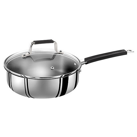 Jamie Oliver - By Tefal stainless steel 24cm sautepan