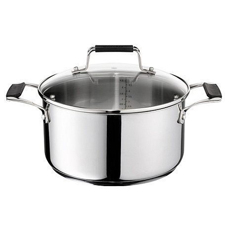 Jamie Oliver - By Tefal stainless steel 24cm stew pot