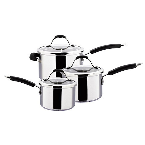 Meyer - Maxim - Maxim Premier stainless steel 3 piece pan set