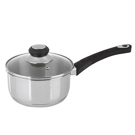 Debenhams - Stainless steel 16cm saucepan