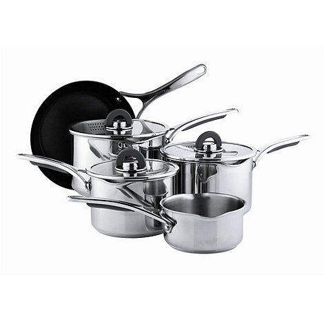 Select - Stainless steel 5 piece cookware set