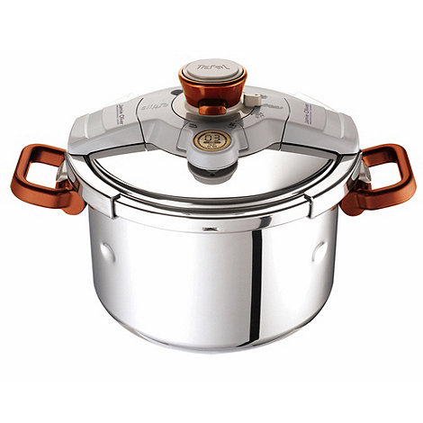 Jamie Oliver - By Tefal stainless steel 6l +clipso+ pressure cooker
