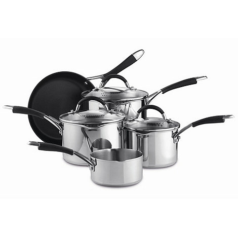 Prestige - Stainless steel five piece pan set