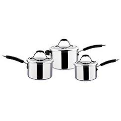 Meyer - Maxim - Stainless steel 'Maxim Premier' three piece pan set