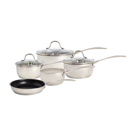 Stainless Steel 5 Pc. Saucepan Set