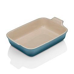 Le Creuset - Marine stoneware 32cm deep rectangular dish