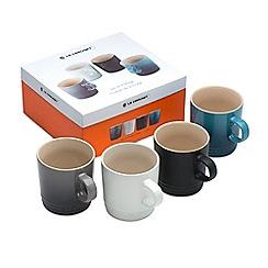Le Creuset - Set of 4 350ml TOTC mugs