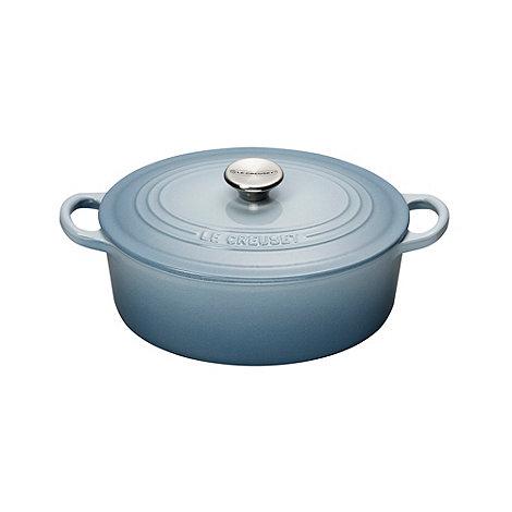 Le Creuset - Cast iron 25cm +Coastal Blue+ casserole dish