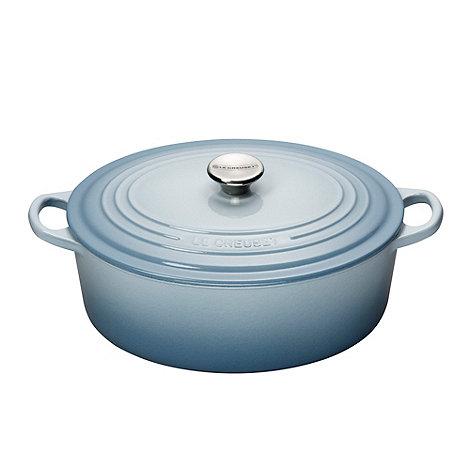 Le Creuset - Cast iron 29cm +Coastal Blue+ casserole dish