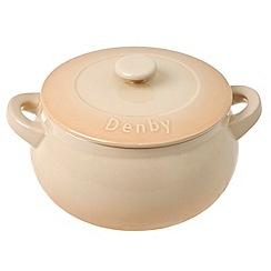 Denby - Barley curved casserole dish