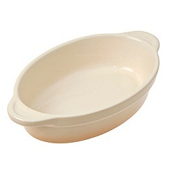 Denby - Barley medium oval casserole dish