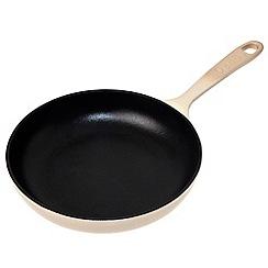 Denby - Cast iron 'Barley' 20cm omelette pan