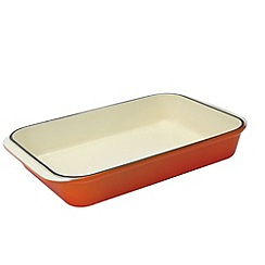 Chasseur - Cast iron flame rectangular roasting dish