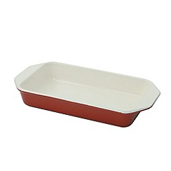 Chasseur - Cast iron chilli red rectangular dish
