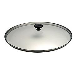 Chasseur - Cast iron wok 37cm lid
