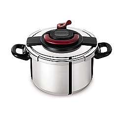 Tefal - 'Clipso' 6L induction pressure cooker